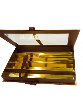 Коробка для конфет на 5 шт 23 х 37 х 4 см  HS-7-30