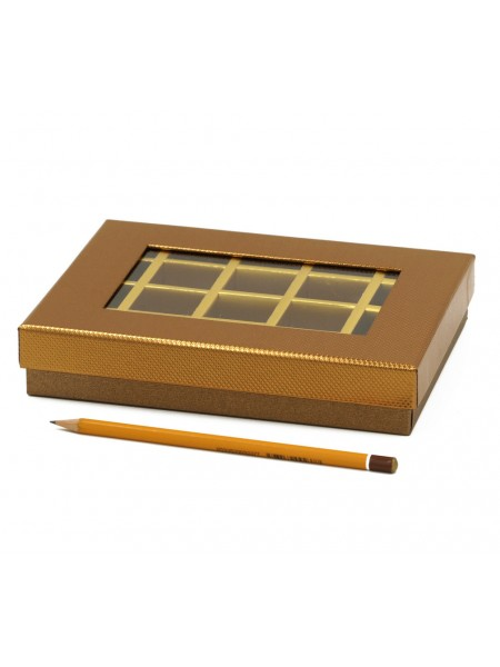 Коробка для конфет на 20 шт 15 х 20 х 4 см цве микс HS-7-26