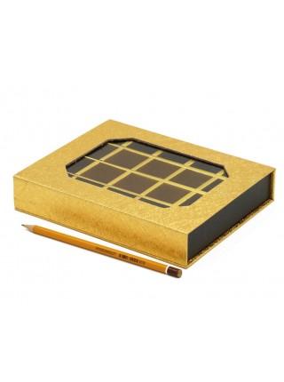 Коробка для конфет на 20 шт 16 х 20 х 4 см цвет микс HS-7-32