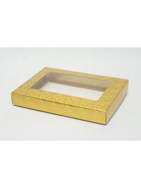 Коробка голографическая 11 под платок с окном 13 х 18 х 2,5 цвет МИКС