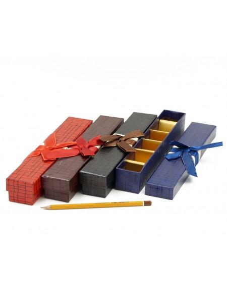Коробка для конфет на 6 шт 25,5 х 4 х 4 см цвет микс  HS-7-17