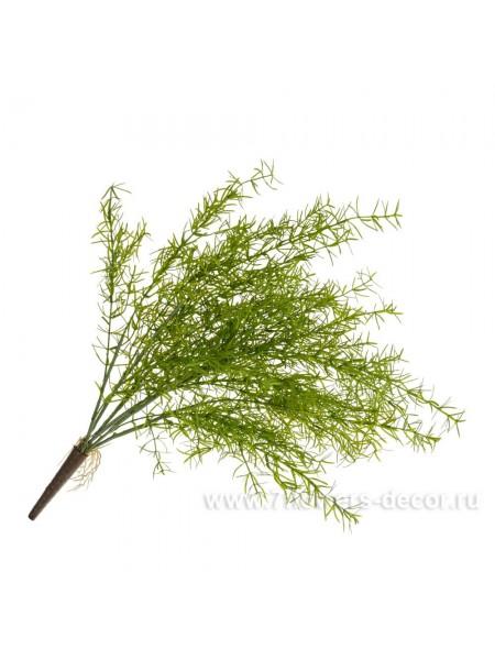 Аспарагус 45 см растение искусственное цвет зеленый арт.9124-2