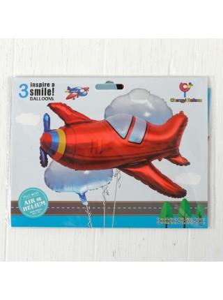 Набор шаров Самолет  набор 3 шт