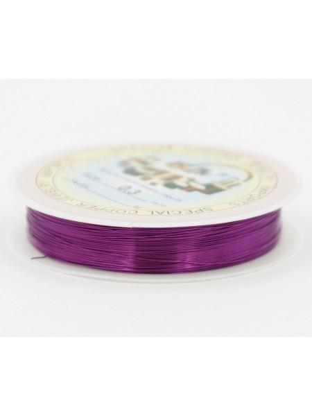 Проволока 0,3 мм х 20 м цвет фиолет