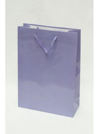 Сумка бумажная 16 полубольшая 22 х 31 х 9 см ассорти