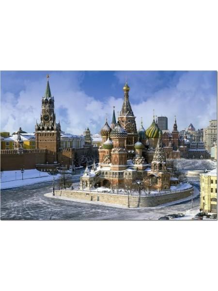 1500 элементов пазл Собор Василия Блаженного