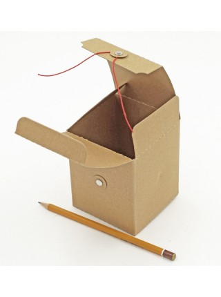 Коробка крафт складная 11 х 9 х 9 см  HS-10-9