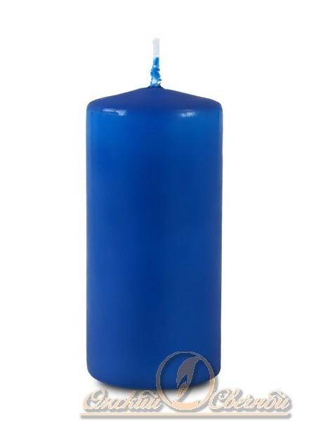 Пеньковая 50 х 115 синяя свеча