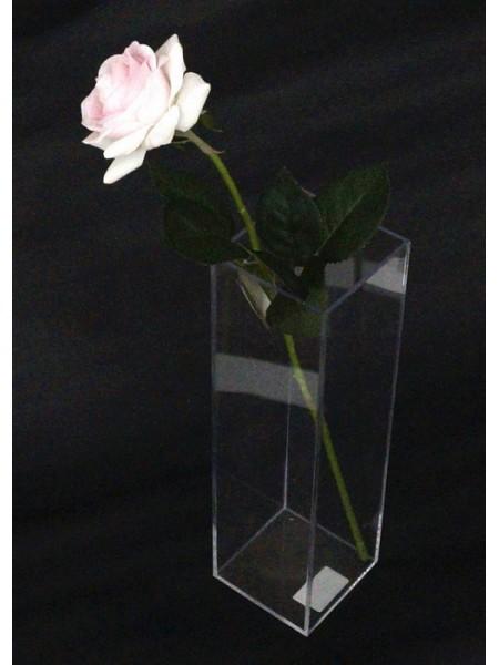 Акриловый бокс для цветов  30 х 9 х 9 см