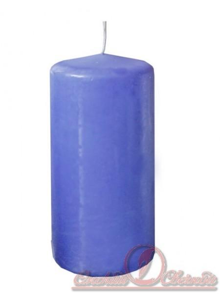 Пеньковая 60 х 125 голубая свеча