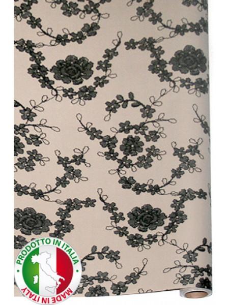 Бумага капелла 41/223-05 Итальянское кружево 100 см х 10 м рулон