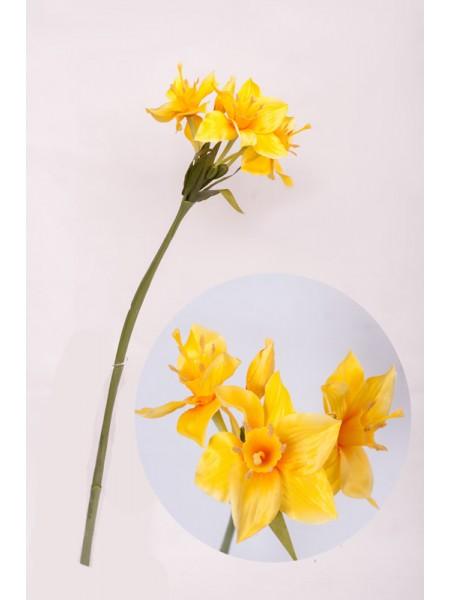 Нарцисс цветок искусственный 67см
