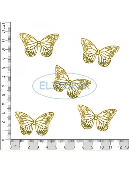 Золотая коллекция Бабочка 5 шт в упаковке