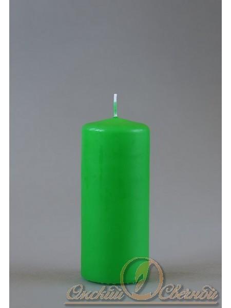 Пеньковая 50 х 115 зеленая свеча