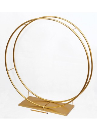 Стойка Круг набор 2 шт d=50/120 см металл цвет золотой HS-13-4