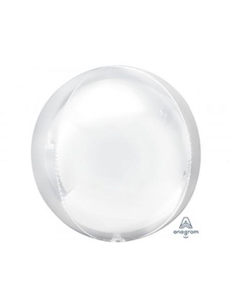 Фольга шар 3D Сфера б/рис 16