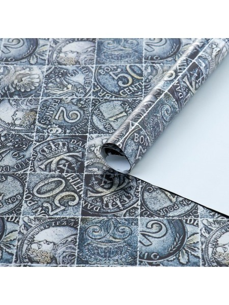 Бумага металлизированная Монетный двор 1 м х 0,685
