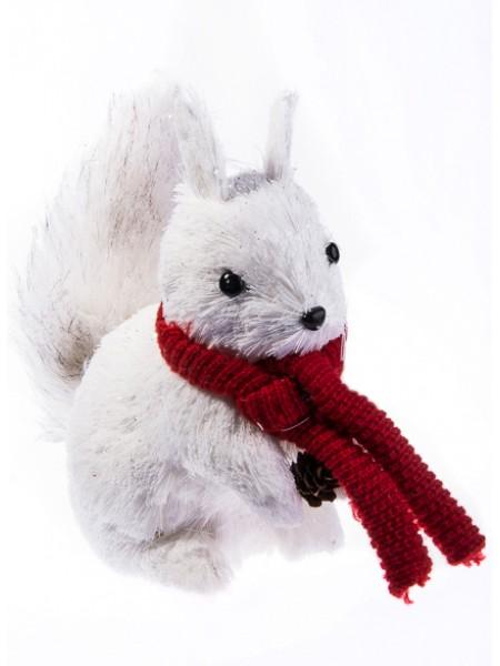 Белка в шарфе 25,5х18х30 см