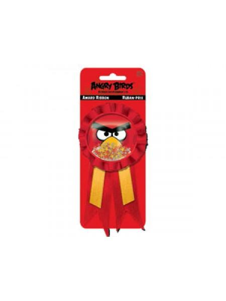 Значок Angry Birds с лентой