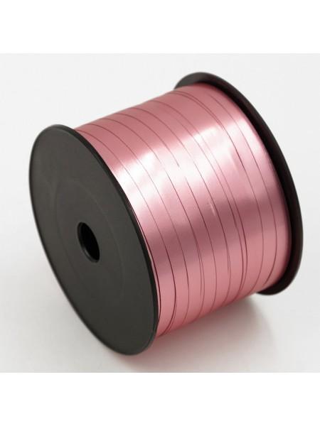 Лента матовый металл 0,5 х 250 ярд розовый